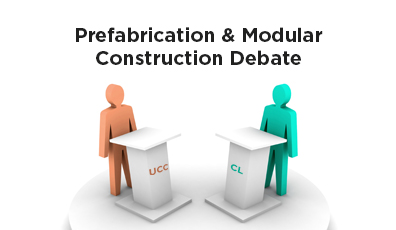 Prefabricated & Modular Construction Debate (members only event)